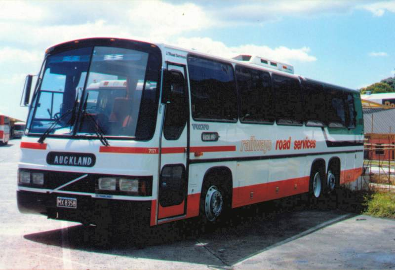 Omnibus Society Nzr Road Services Volvo B10m Coach 7177